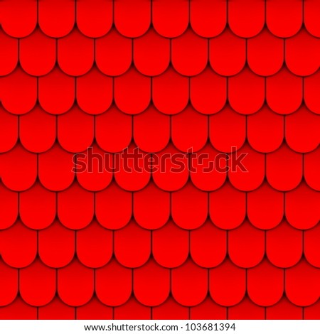 Red slate. Vector - stock vector