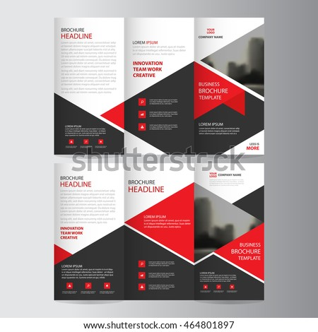 Tri Fold Brochure Stock Images RoyaltyFree Images Vectors - Business tri fold brochure templates