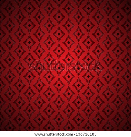 Red vector abstract vintage background pattern