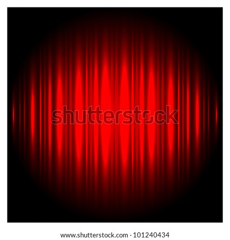 Red Vector Background - stock vector