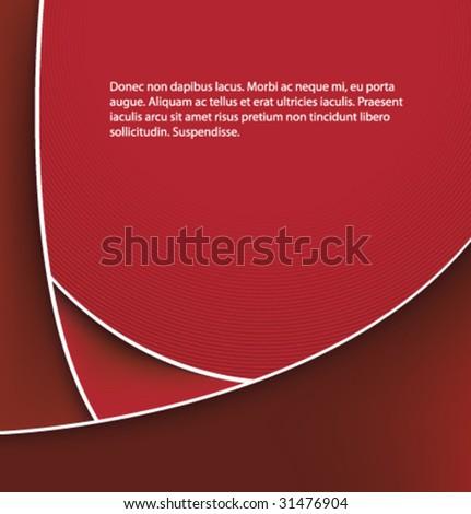 Red Vector Design Background