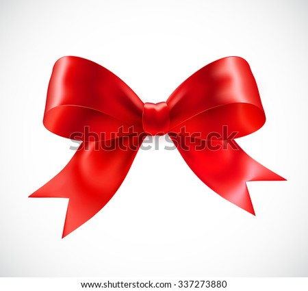 Red vector gift bow vector illustration stock vector 337273880 red vector gift bow vector illustration eps10 negle Image collections