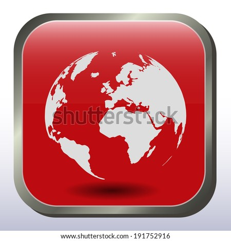 Red world map sticker info graphic stock photo photo vector red world map sticker info graphic vector template gumiabroncs Images