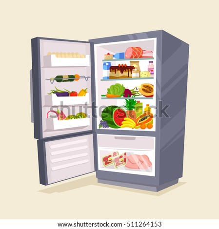 open fridge stock images royalty free images amp vectors