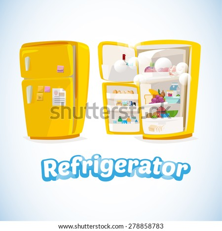 Refrigerator Stock Images Royalty Free Images Amp Vectors