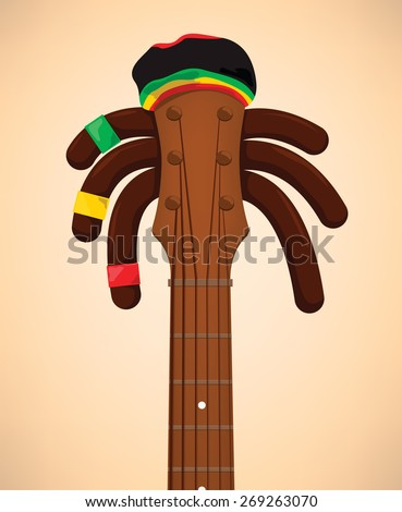 Reggae - stock vector