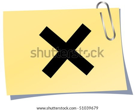 Rejected button.Vector illustratio - stock vector