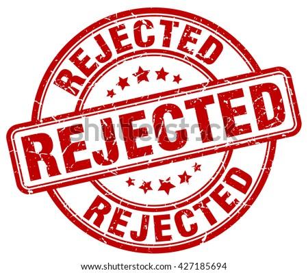 rejected red grunge round vintage rubber stamp.rejected stamp.rejected round stamp.rejected grunge stamp.rejected.rejected vintage stamp. - stock vector