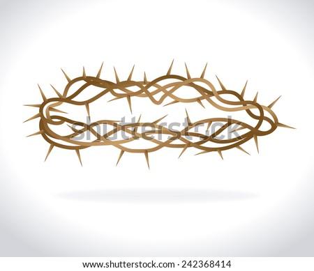Religion design over white background, vector illustration. - stock vector