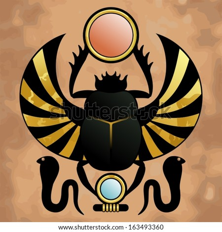Egyptian Scarab Beetle Symbol http   www shutterstock com s scarab    Egyptian Symbols Scarab