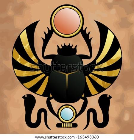 Egyptian Scarab Beetle Symbol http   www shutterstock com s scarab    Egyptian Symbols Scarab