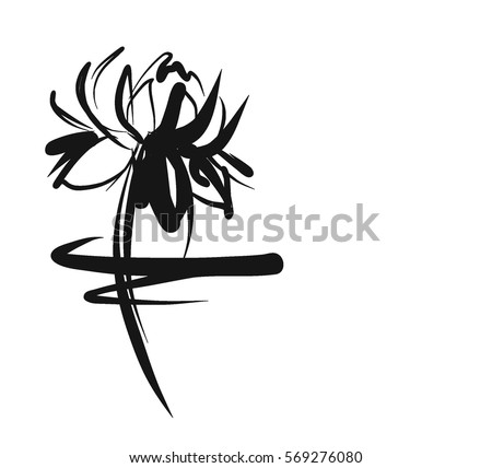 Religion Symbol Lotus Water Lily Lily Stockvector 569276080
