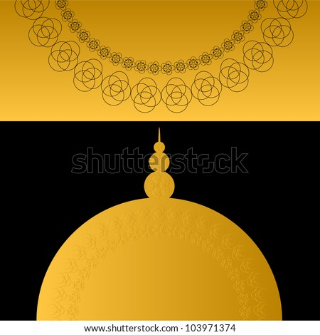 Religious Background. Jpeg Version Also Available In Gallery. - stock vector