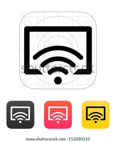 Remote control icon. - stock vector