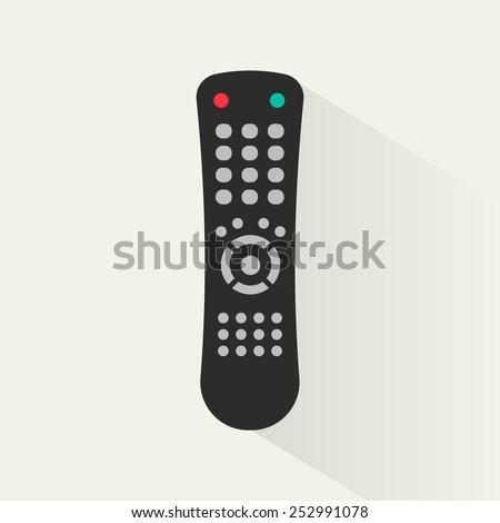 Remote control icon, vector - stock vector