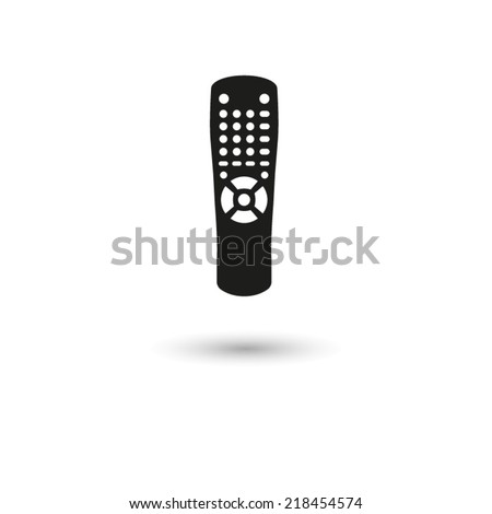 Remote control - vector icon - stock vector