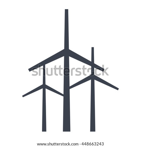 Renewable energy eco theme design, vector illustration graphic design.