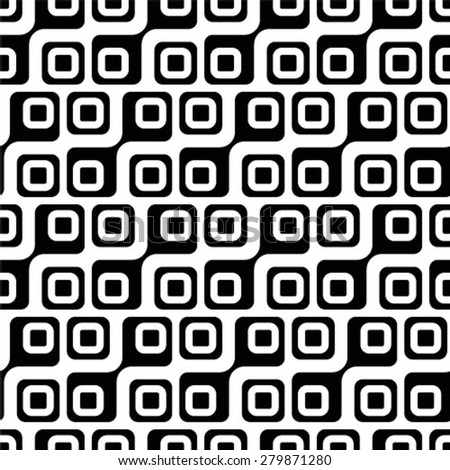 Repeating abstract geometric background, Vector seamless pattern.