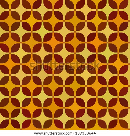 Repeating seamless pattern with soft tiled squares - stock vector
