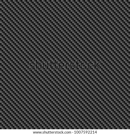 Repeating, tileable carbon fibre background illustration