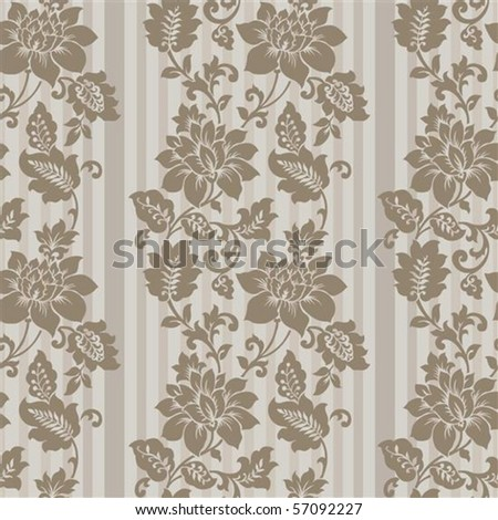 Repeating vector background pattern. The pattern is included as a seamless swatch. Very easy to edit. - stock vector