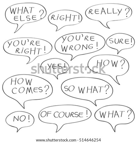 reply speech bubbles