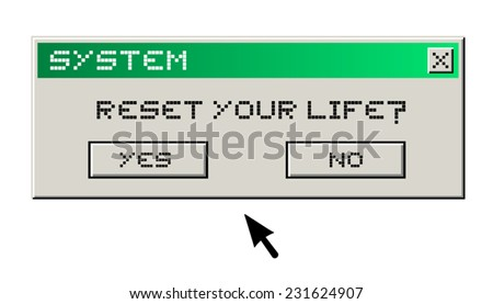 Reset your life message