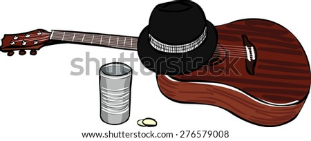 Rest of the performers - stock vector