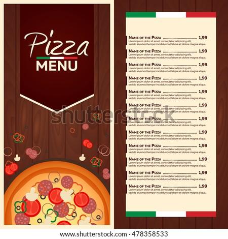 Pizza Menu Stock Images Royalty Free Images Amp Vectors