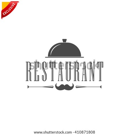 restaurant logo, vector restaurant menu, isolated restaurant sign
