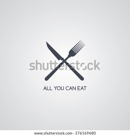 restaurant logotype - stock vector