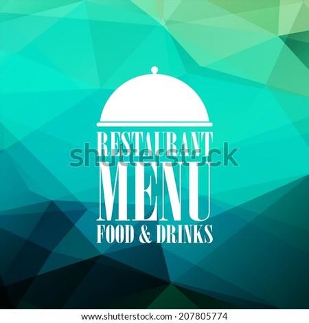 Restaurant Menu Card - stock vector