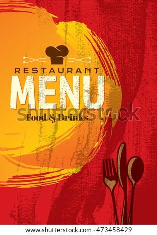 spanish menu template