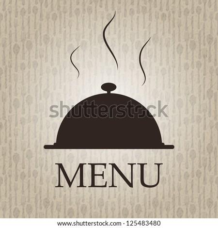 Restaurant menu template vector illustration - stock vector