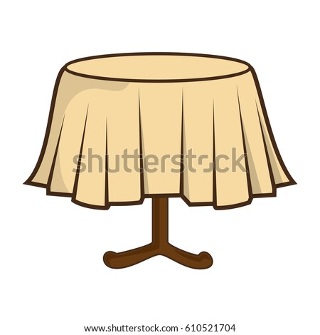 Restaurant Table Isolated Icon
