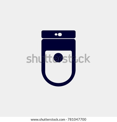 restroom icon, Vector ilustration. tolet icon vector