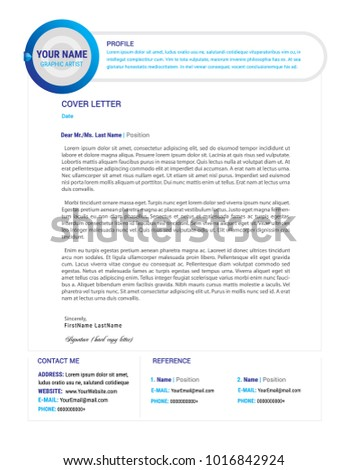 Job Cover Letter Stock Images, Royalty-Free Images & Vectors