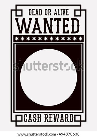 Wanted Poster Clip Art Stock Images, Royalty-Free Images & Vectors ...