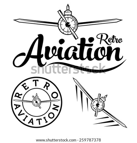 stock vector retro aviation label 259787378 air force logo stock images, royalty free images & vectors on us air force bullet backgroun paper template download