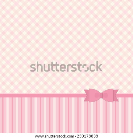 Retro background in pastel colors ideal for baby shower
