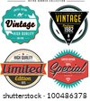 Retro Banner Collection - stock vector