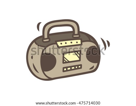 Boombox Vector Stock Photos, Royalty-Free Images & Vectors ...