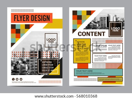 Brochure Layout Design Stock Images RoyaltyFree Images  Vectors