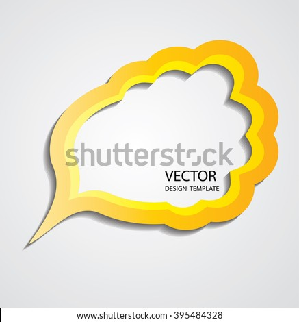 Retro Bubble Speech. Vintage Bubble Think.grunge element for graphic design, website, brochure, poster. Vector illustration. Grunge Bubble Cloud. Thought Bubble. Speech Bubble Vector. Speech Icons. - stock vector