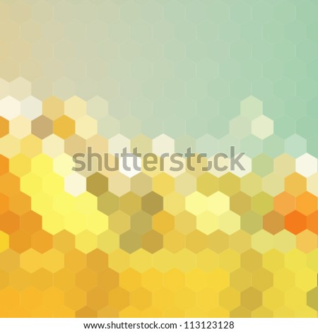 retro colorful background - stock vector