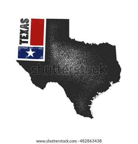 Stylized Usa Map Vector Illustration Stock Vector - Stylized us state map infographic rough