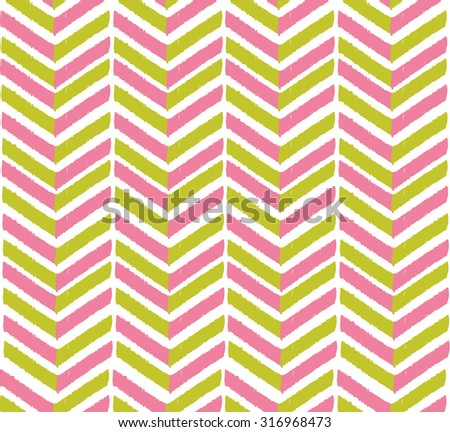 retro geometric seamless pattern, shevron pattern