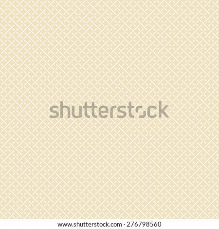 Retro geometric seamless texture. Vector background. - stock vector