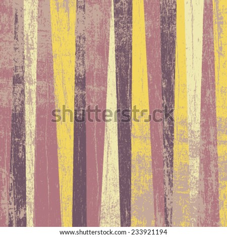 retro grunge lines pattern - stock vector