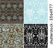 retro motif design - stock photo